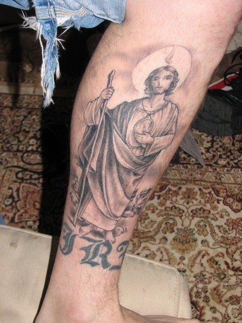 Tatuajes De Escenas Personajes Y Símbolos Religiosos
