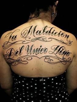 Tatuajes De Letras Que Forman Frases Cortas Y Palabras