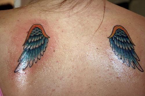 200 Tatuajes con alas de ngeles u otros seres