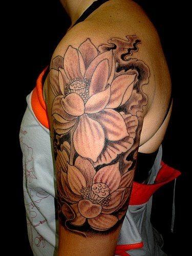 46 Tatuajes Con La Maravillosa Flor De Loto