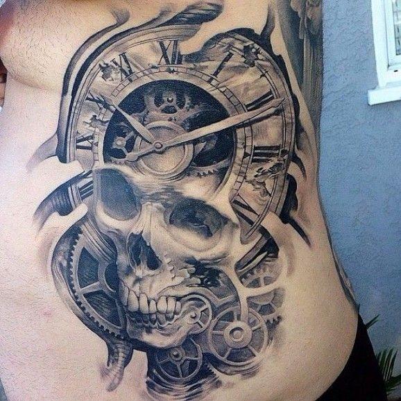 80 Tatuajes De Tejidos Biónicos Y Biomecánicos