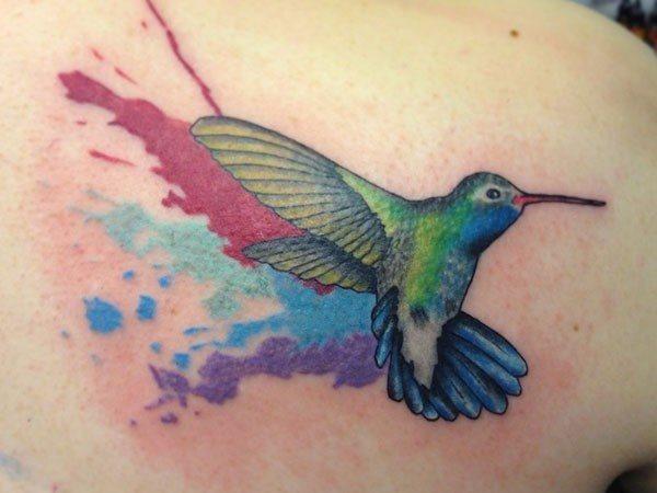 125 Tatuajes De Brillantes Colibries O Picaflores