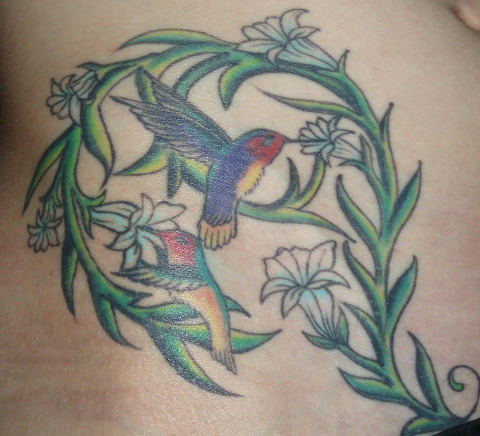De colibri en la espalda significado tatuaje colibri tatuaje tattoo - Tatuajes De Colibries 36