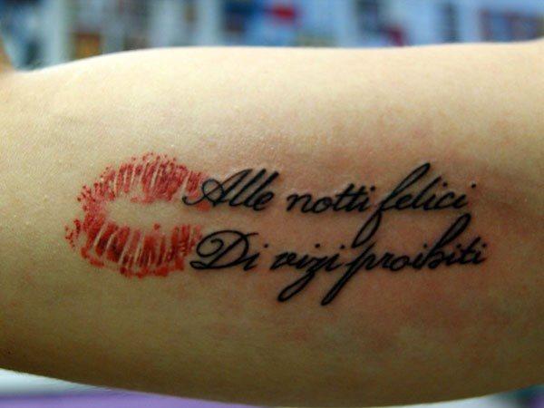 58 Tatuajes De Italia Algunos Con Frases En Italiano