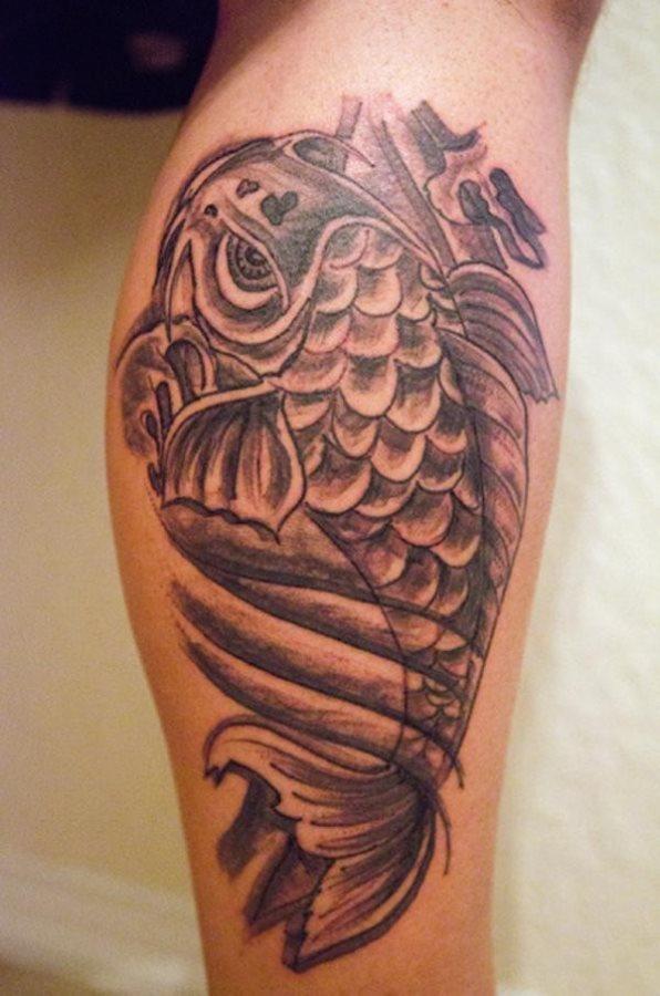 80 tatuajes de la carpa japonesa o pez koi for Pez koi pequeno