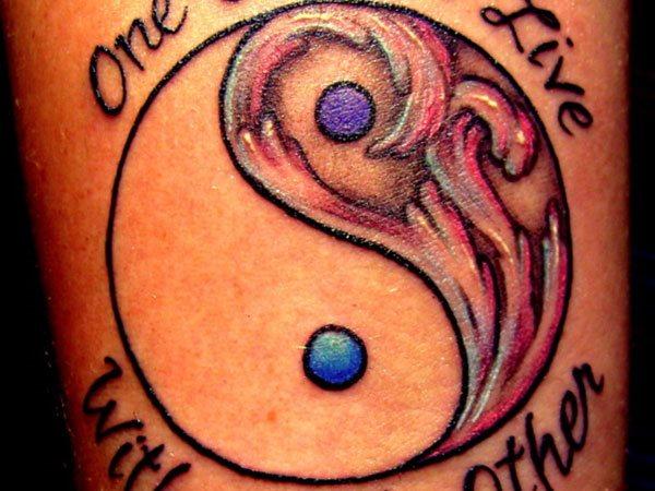 Yin Y Yang 66 Tatuajes De Este Símbolo Taoísta