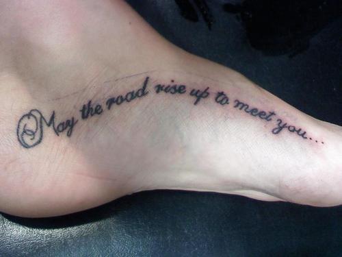 Letras Palabras Y Frases Tatuajes De Escritura
