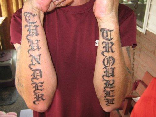letras tatuajes 10