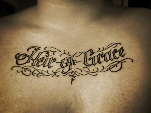 tatuajes letras 14
