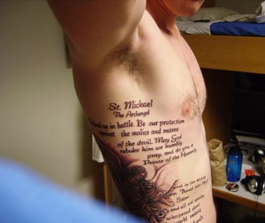 Tatuajes En El Muslo Para Hombres Frases Sfb