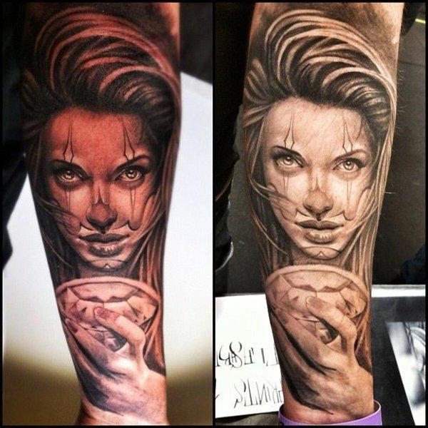 tatuaje antebrazo modelo 105