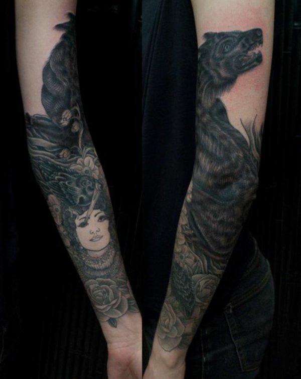 tatuaje antebrazo modelo 119