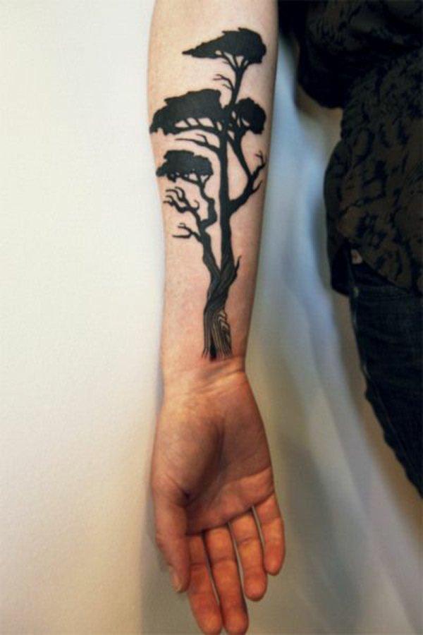 tatuaje antebrazo modelo 123