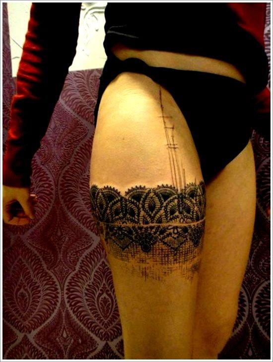 foto tatuaje pierna muslo 249