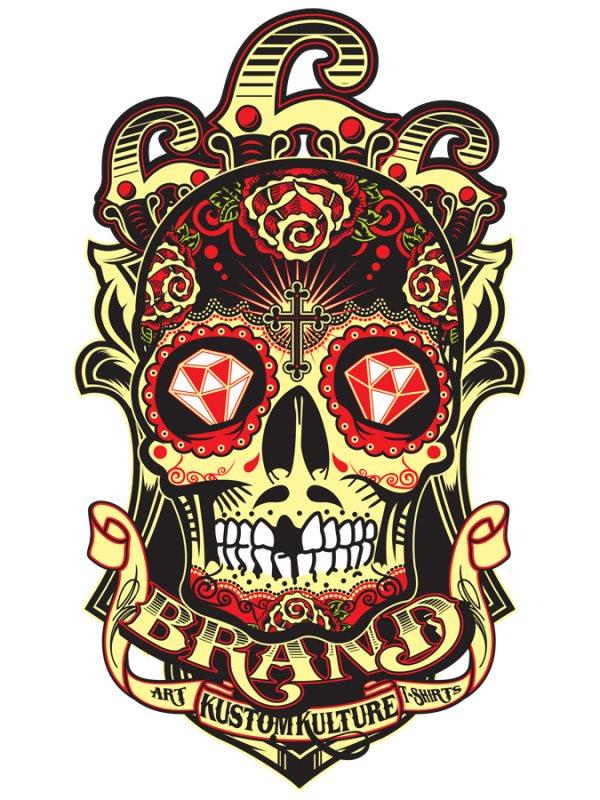 calavera mexicana tatuaje 41