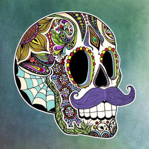 calavera mexicana tatuaje 45