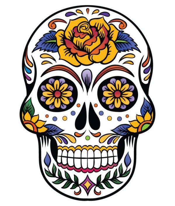 calavera mexicana tatuaje 46