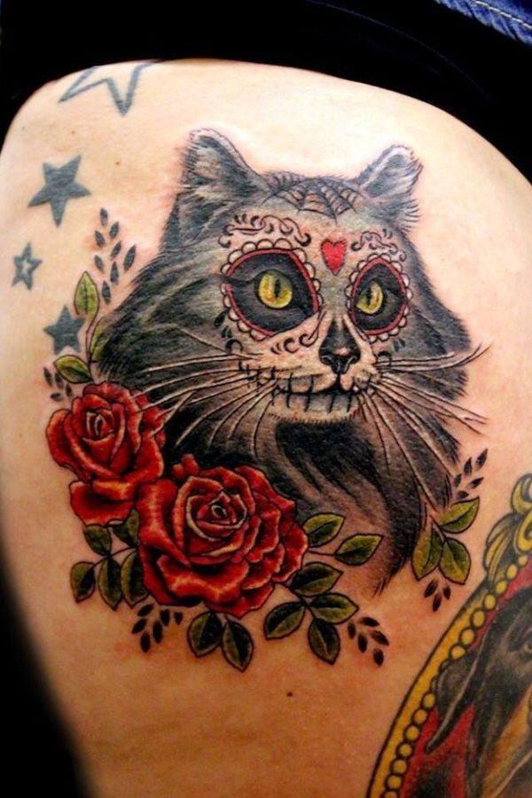 foto tatuaje calavera 446