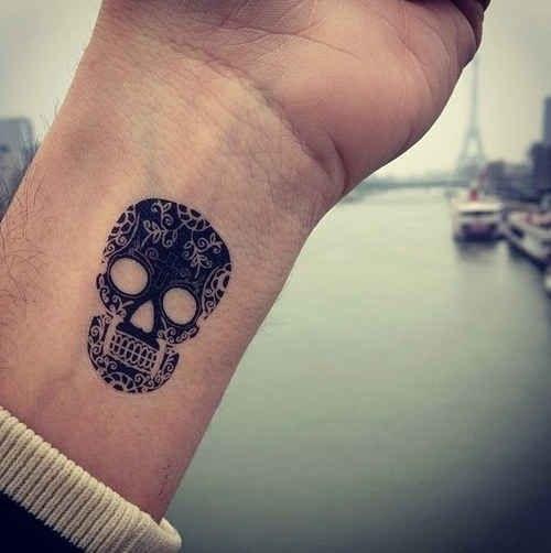 foto tatuaje calavera 449