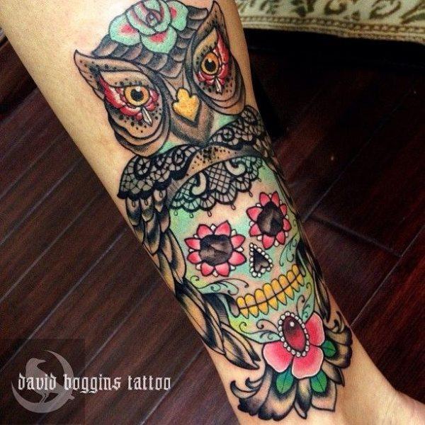 foto tatuaje calavera 451