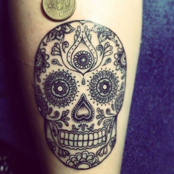 foto tatuaje calavera 454