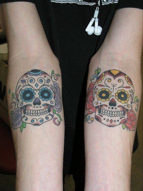foto tatuaje calavera 455