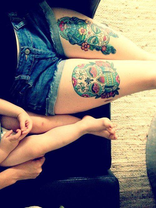 tatuaje calavera mexicana 106