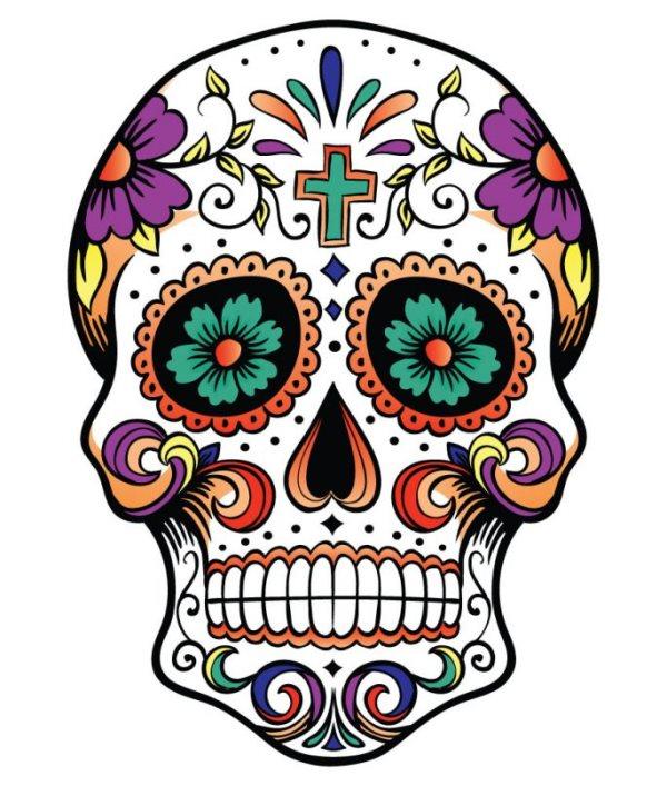 tatuaje calavera mexicana 108