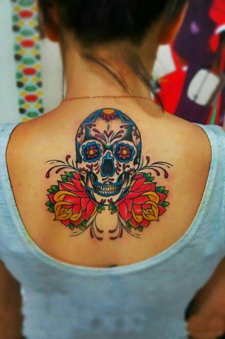 tatuaje calavera mexicana 90