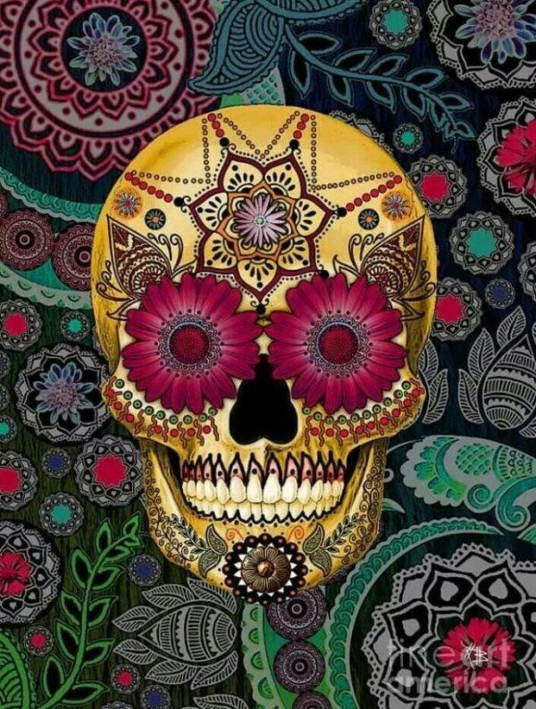 tatuaje calavera mexicana 91