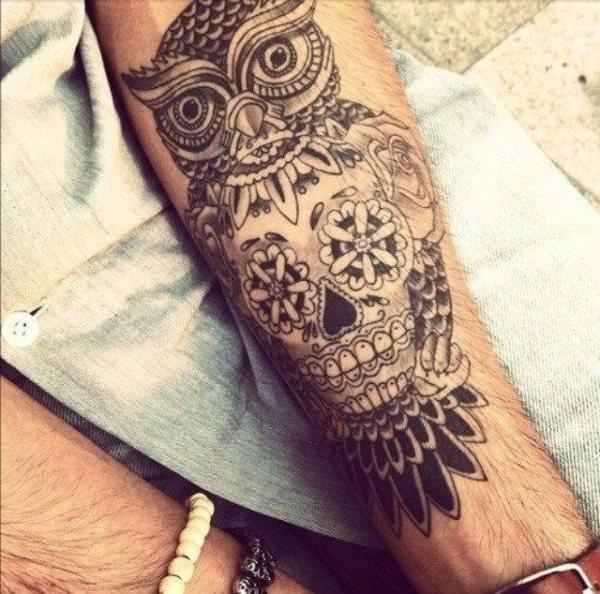 tatuaje calavera mexicana 94