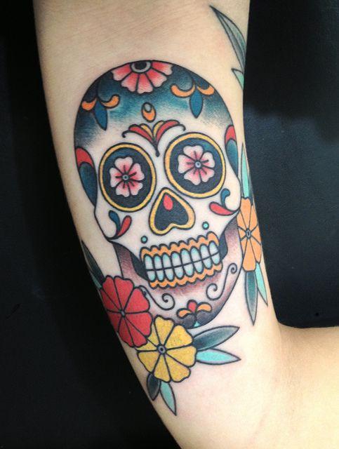 tatuaje calavera mexicana 95