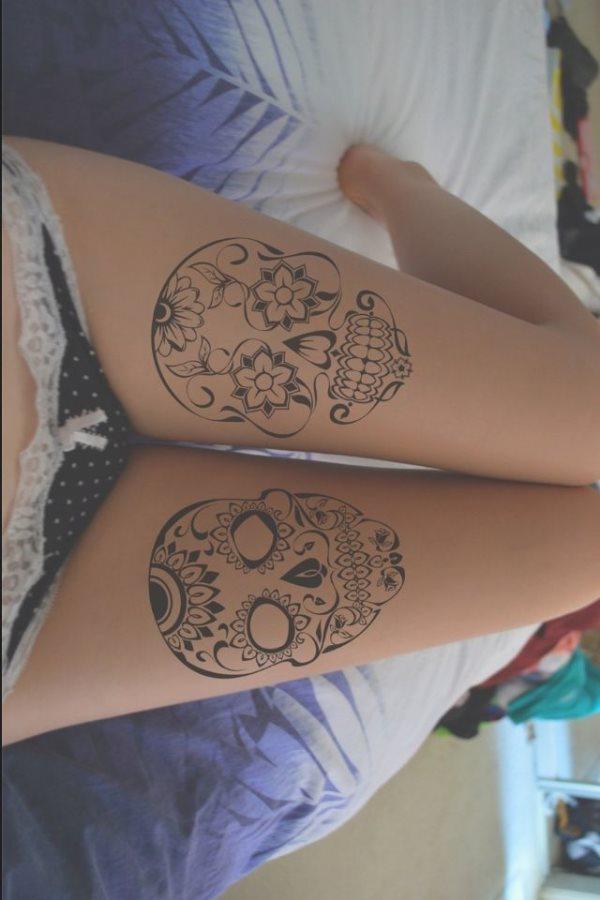 tatuaje calavera mexicana 96