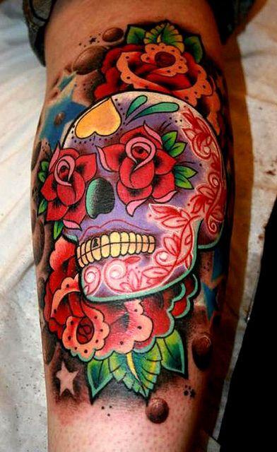tatuaje calavera mexicana 97