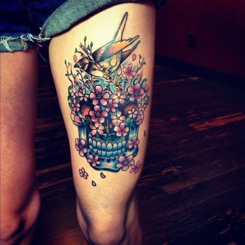 tatuaje calavera mexicana 99