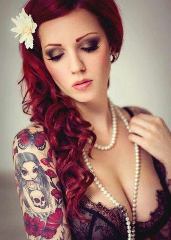 Tatuajes Para Mujeres Un Nuevo Accesorio De Moda: 130 Tatuajes Femeninos Perfectos Solo Para Mujeres