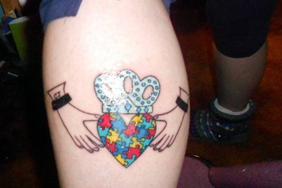 Tatuajes Con Diseños De Piezas De Puzzles