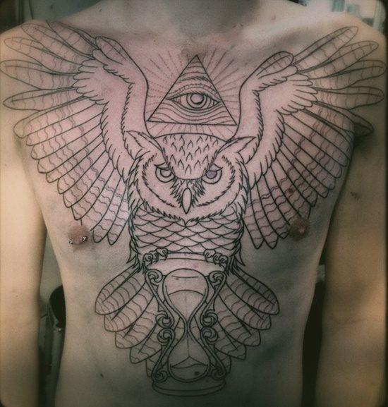 tatuaje reloj arena 335
