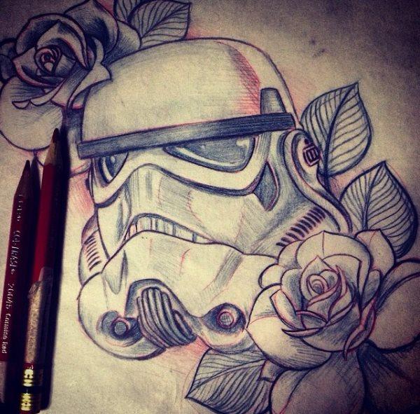 50 Tatuajes con los personajes de Star Wars