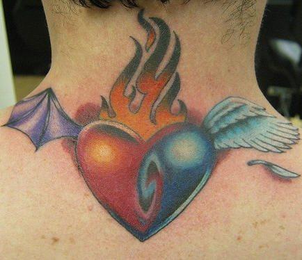 tatuaje amor love 1003