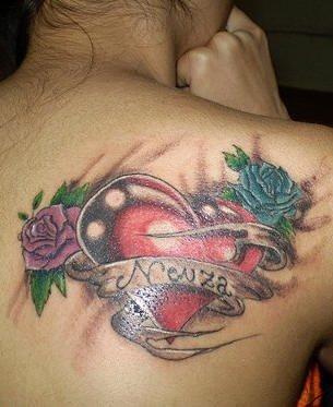 tatuaje amor love 1006