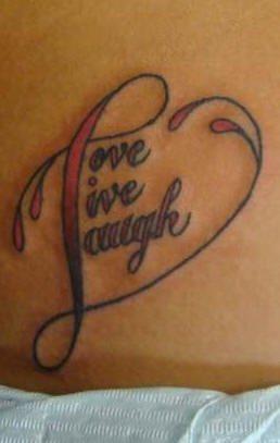 tatuaje amor love 1018