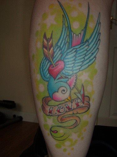 tatuaje amor love 1067