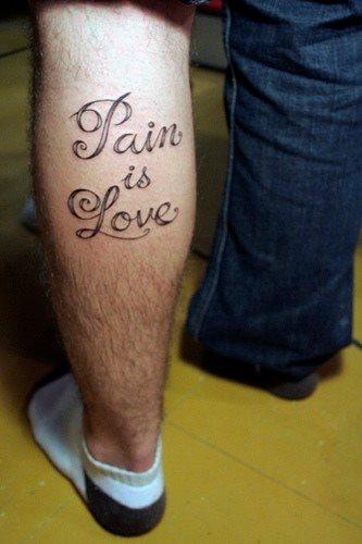 tatuaje amor love 1074