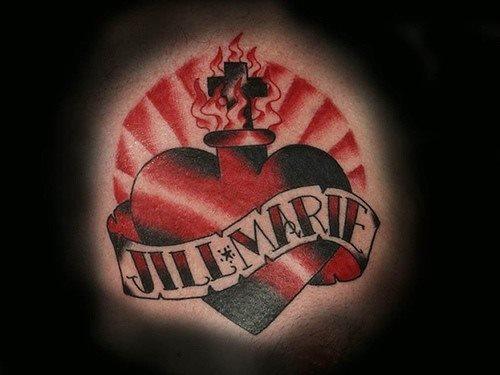 tatuaje amor love 1078