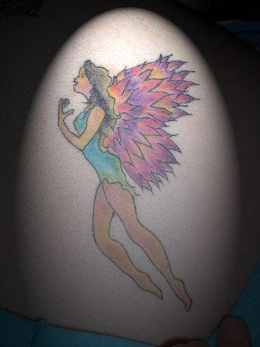 110 Diseños Con Tatuajes De Tiernos ángeles