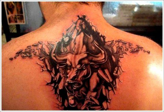 tatuaje toro 111