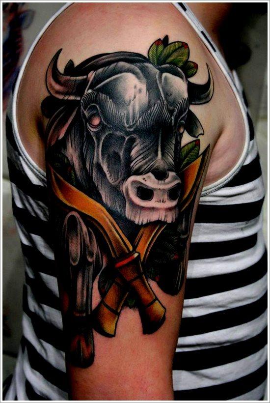 tatuaje toro 115