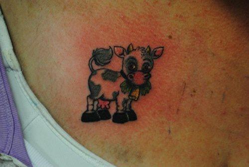 tatuaje vaca 323