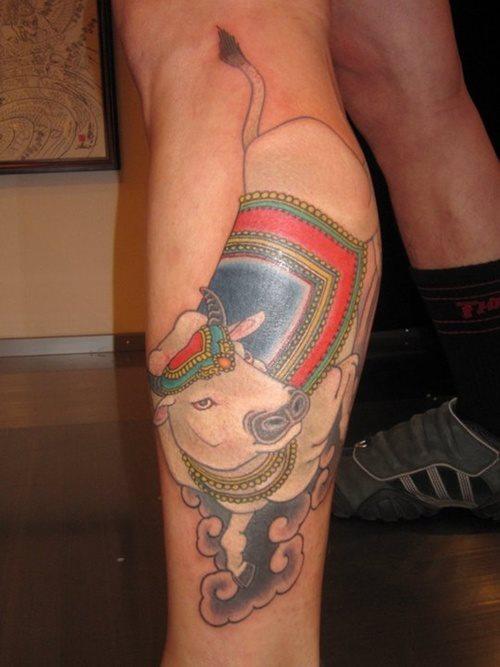 tatuaje vaca 335
